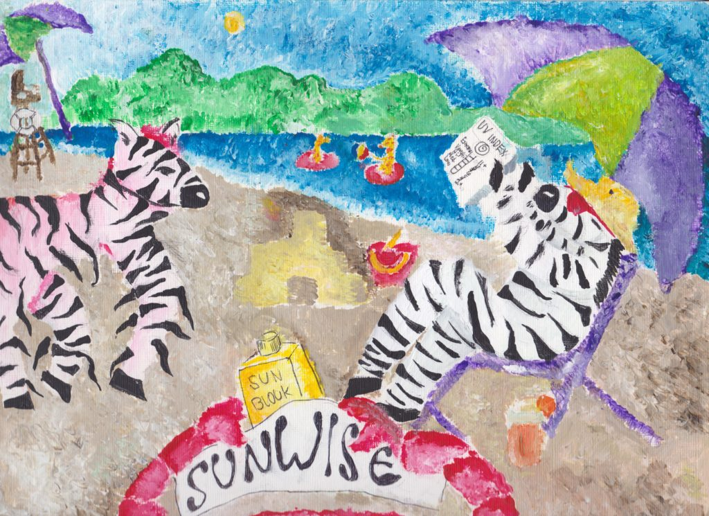 2016 Poster Contest National Winner Alexia - grade 4 Winnsboro, South Carolina