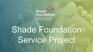 Shade Foundation - Service Project - 475x266