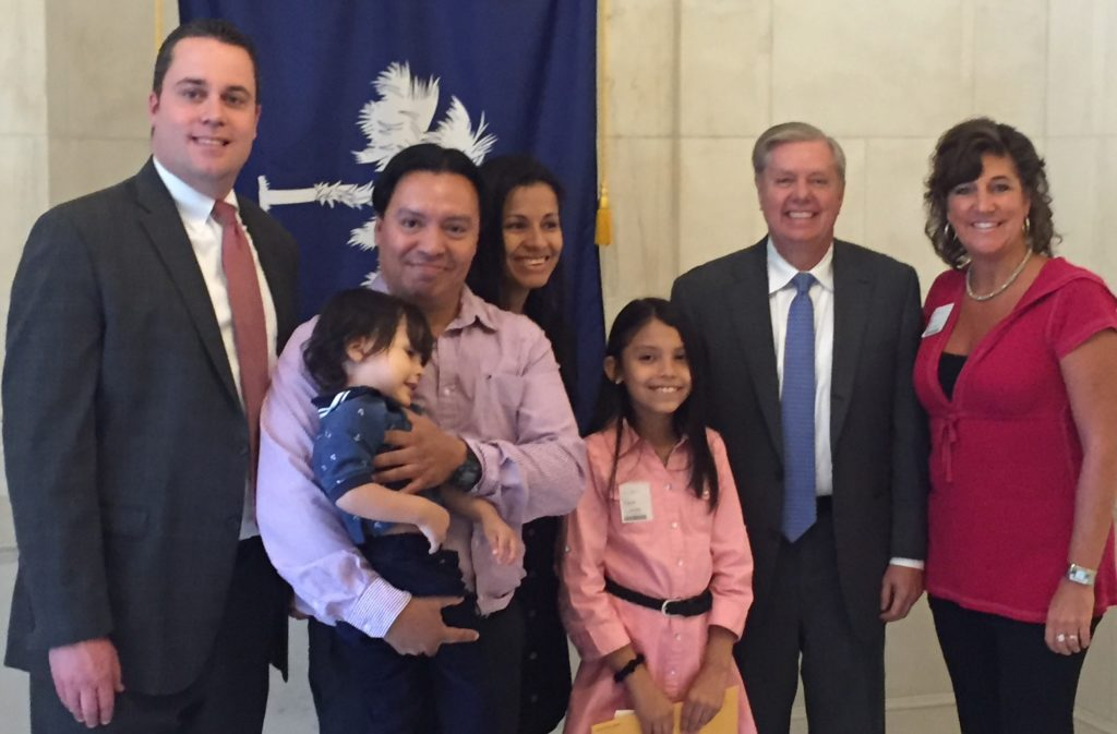 US Sen Lindsey Graham and Family